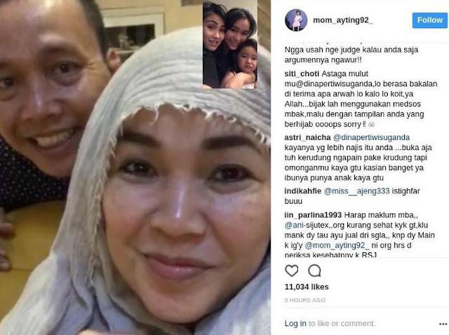 Heboh Kabar Bukan Ayahnya, Abdul Rojak Selalu Pantau Berita Ayu Ting Ting