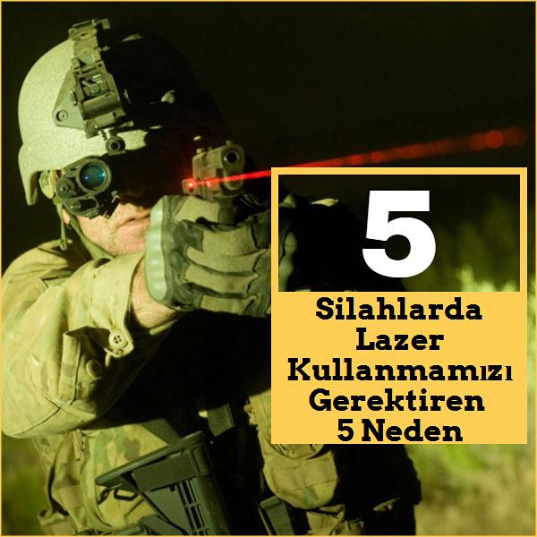 Silah lazer askeri ekipman