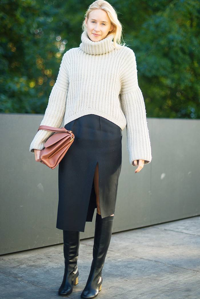This Street Style Look Makes Getting Dressed for Work a Cinch