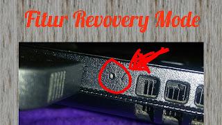 Cara masuk recovery Mode