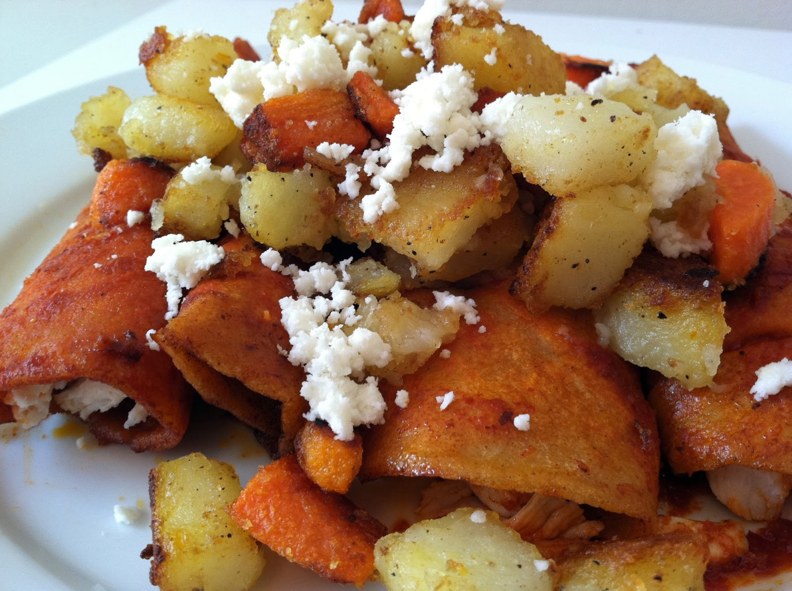 CatSoup: Enchiladas Rojas
