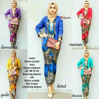 model rok batik kombinasi kebaya