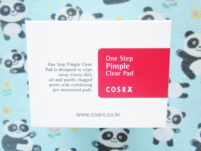 COSRX One Step Pimple Clear Pads beauty review