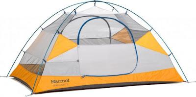 внутреняя часть палатки Marmot Traillight 2P