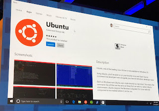 Ubuntu is now available on the Windows Store