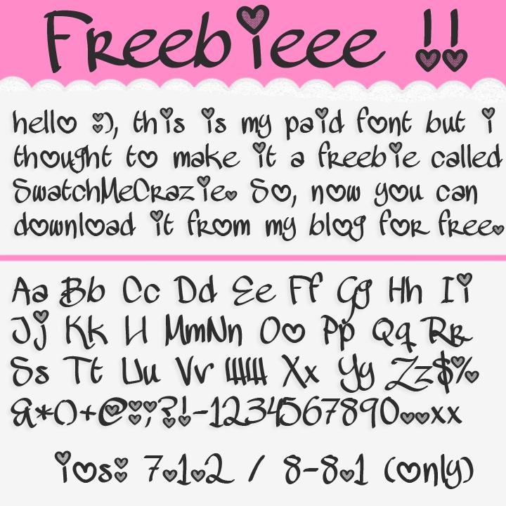 ♥cuteness: Freebies