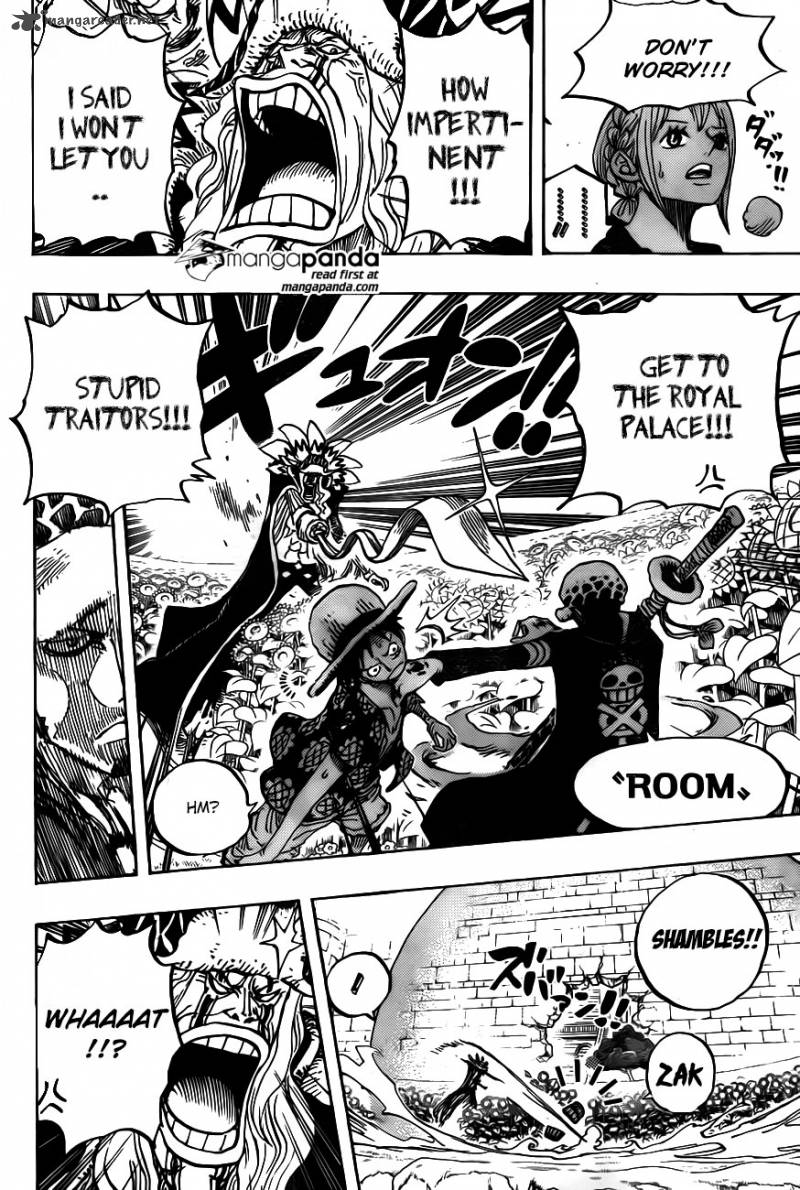 One Piece Ch 758: Ignore it and move on
