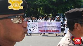 Dijaga Ketat Polisi, 5.000 Penganut Syiah Berhasil Lakukan Ritual Sesat Asyura di Semarang