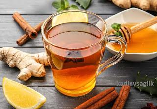 Zencefil Zerdeçal Tarçın Çayı