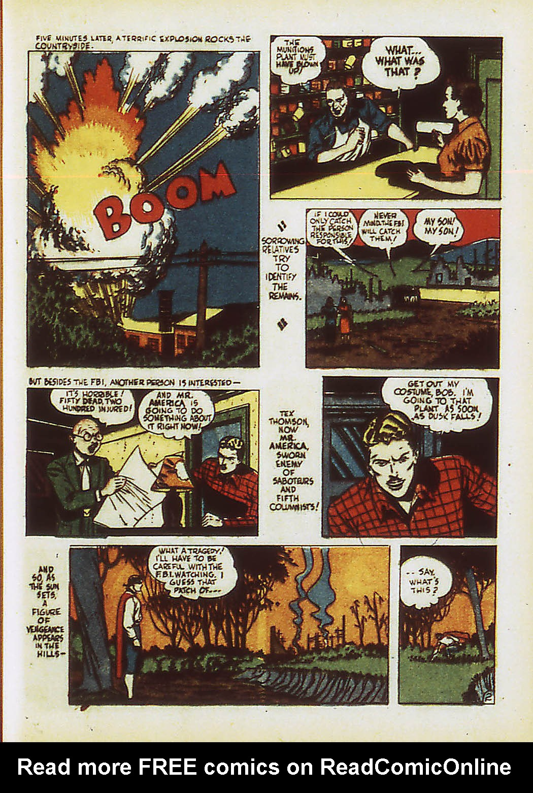 Read online Action Comics (1938) comic -  Issue #34 - 40