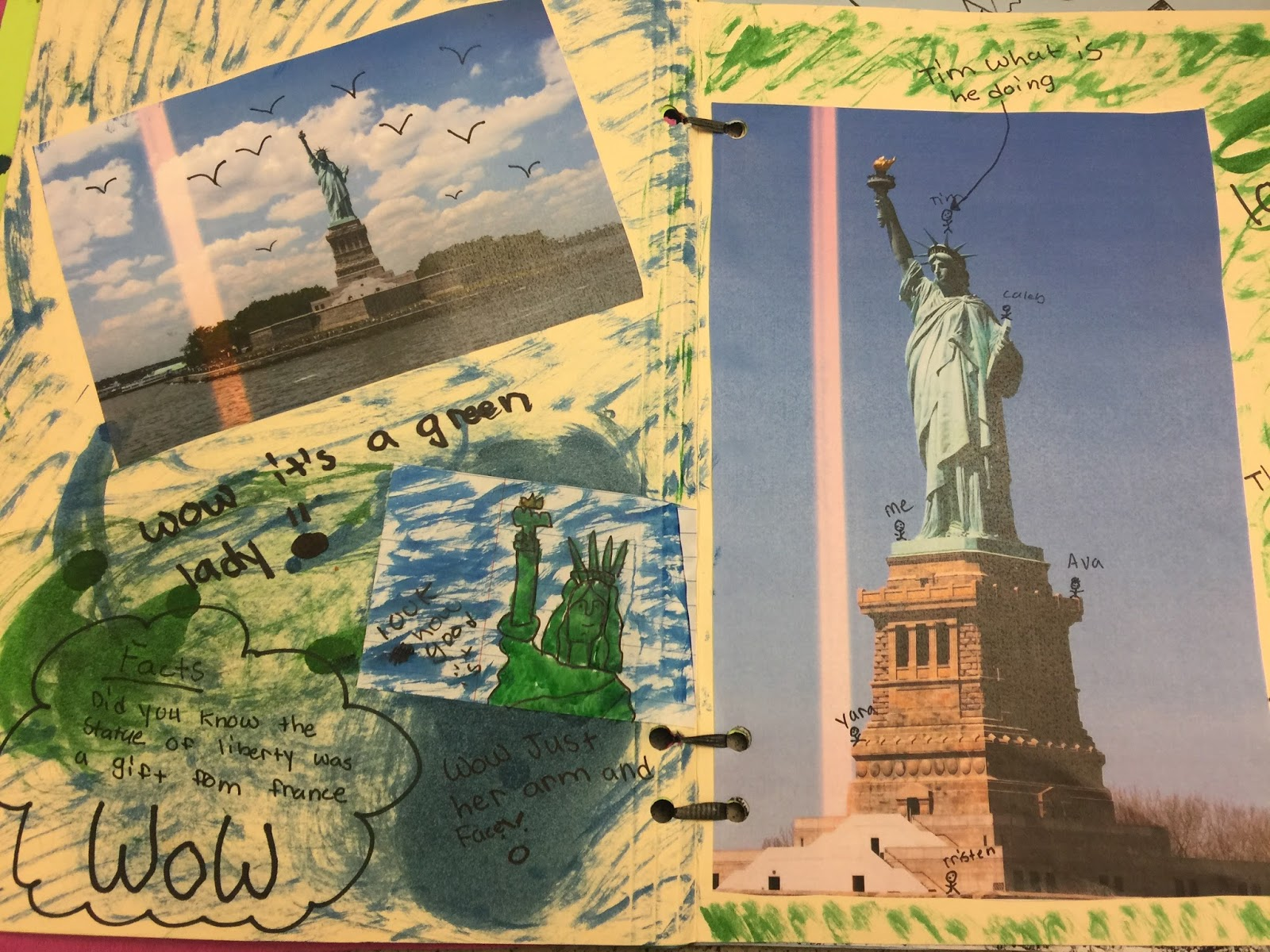scrapbook pages of historic sites amelia style