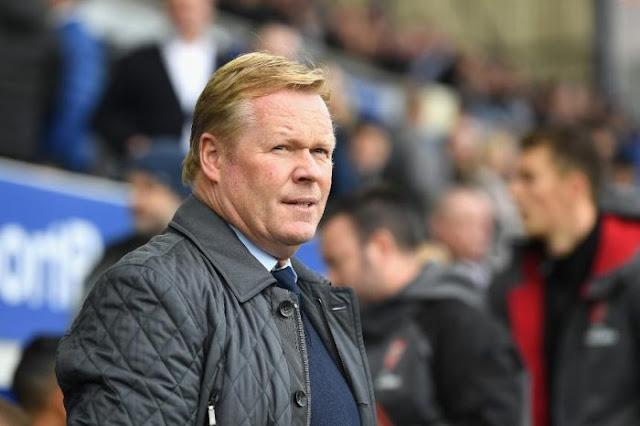 Everton Part Company With Koeman
