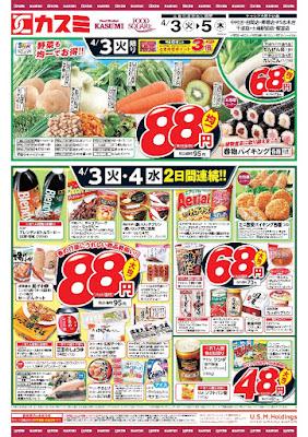 【PR】フードスクエア/越谷ツインシティ店のチラシ4月3日号