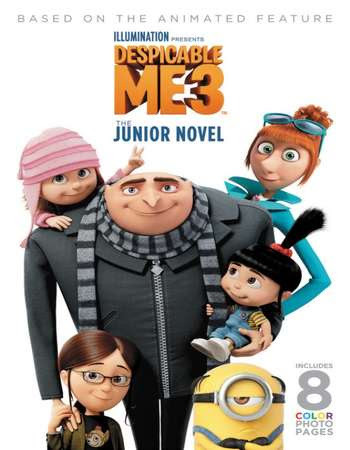 Poster Of Free Download Despicable Me 3 2017 300MB Full Movie Hindi Dubbed 720P Bluray HD HEVC Small Size Pc Movie Only At worldfree4u.com
