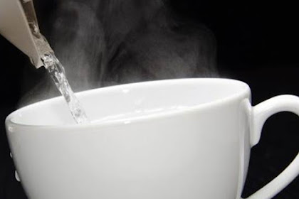 Drinking warm water in the morning can make your body slimmer