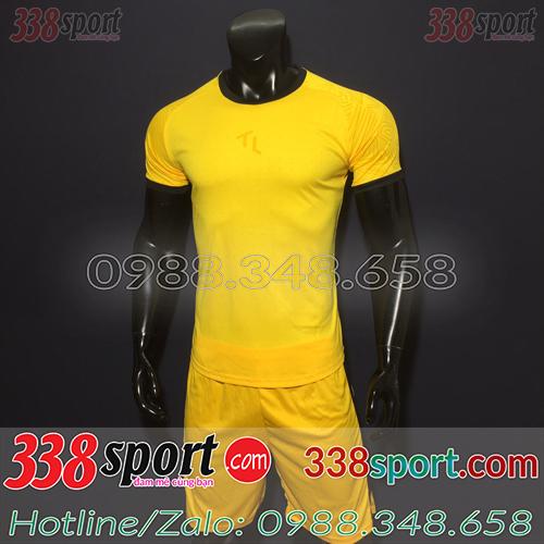 Áo Bóng Đá Không Logo Hot Kool Bra SLM01 Vàng