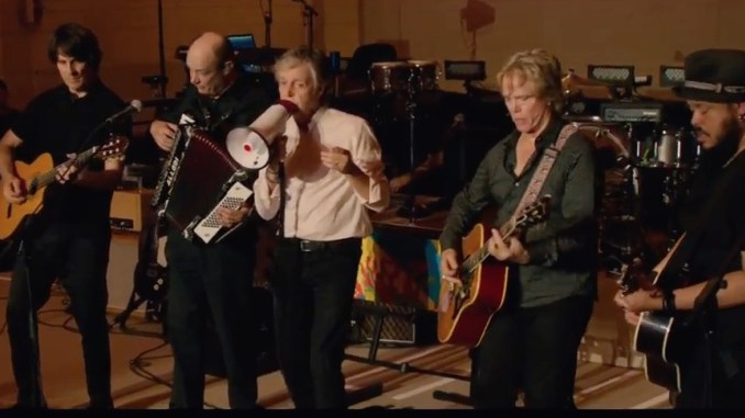 McCartney Rocks Grand Central Station – Horns Section Added
