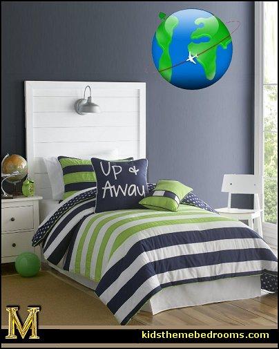 Airplane Bedroom Decor: Maries Manor: Airplane Theme