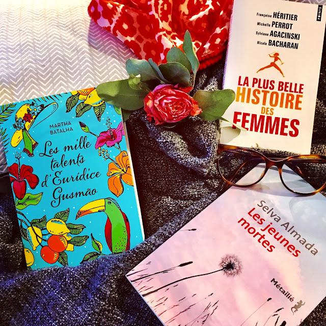 """Conseil lecture - """"Journée de la femme : 3 romans à lire sur la condition féminine"""" par Mally's Books"""