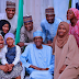 Lovely photo of President Buhari, his daughters, son and son in-laws