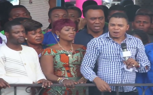Obinim curses accusers, police officers [Video]