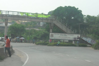 oau graduate stabs mother to death