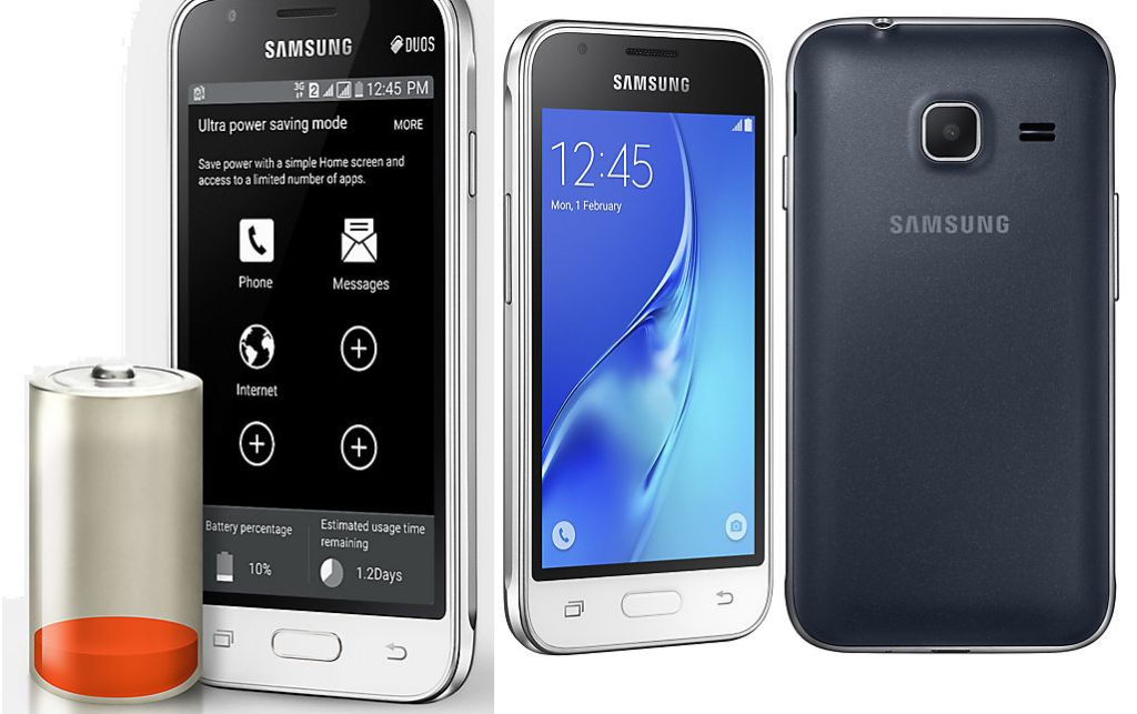 Galaxy J1 mini SM-J105F with Specifications