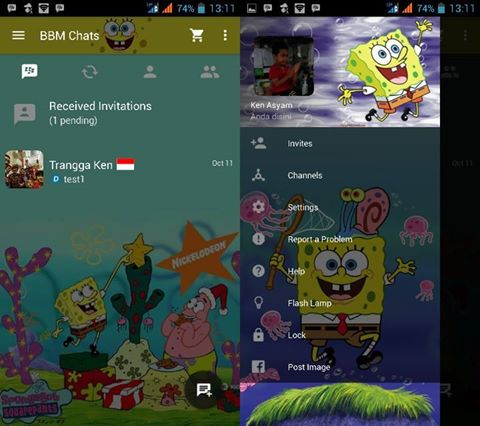 Preview BBM SpongeBob Squarepants