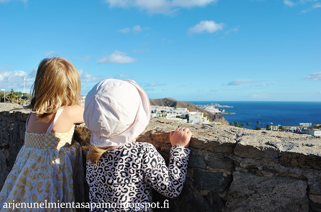 retki, lapset, aurinko, suojautuminen, matkustelu, nähtävyys, maisema, puerto rico