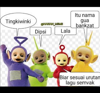 Meme Teletubbies Indonesia