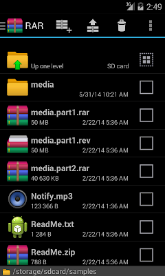 WinRAR for Android terbaru