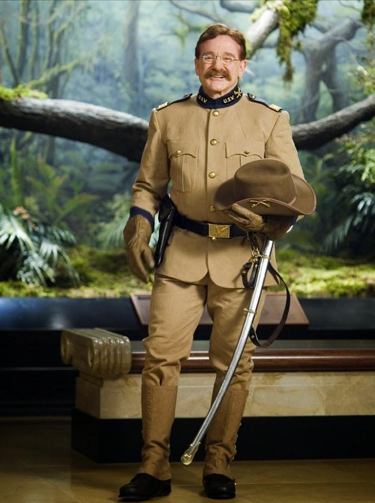 """Theodore """"Teddy"""" Roosevelt uma noite no museu"""