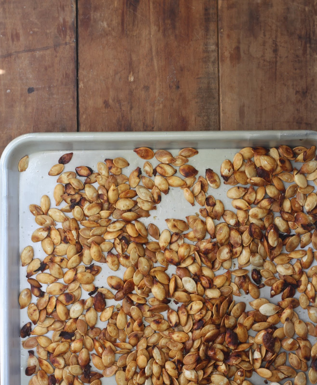17 Apart: How To: Roasted Pumpkin Seeds Recipe