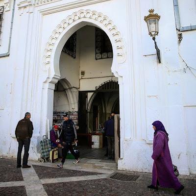 Puerta de la ciudad de Tetuán