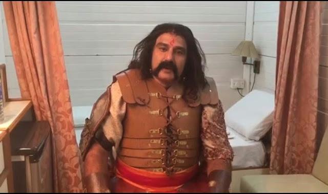 Gautamiputra satakarni on the sets Stills