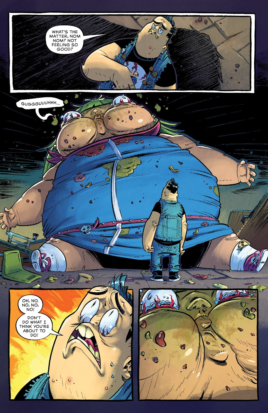 Read online Bully Wars comic -  Issue #4 - 10
