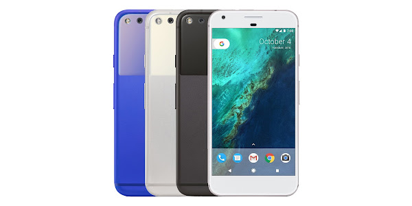 Google Pixel and Pixel XL colors
