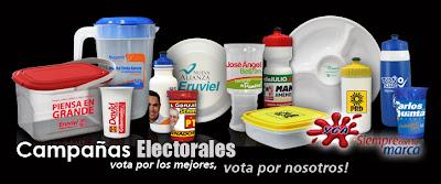 9c8f8159517f Promocionales de Plastico YGA  Promocionales para Campañas Politicas