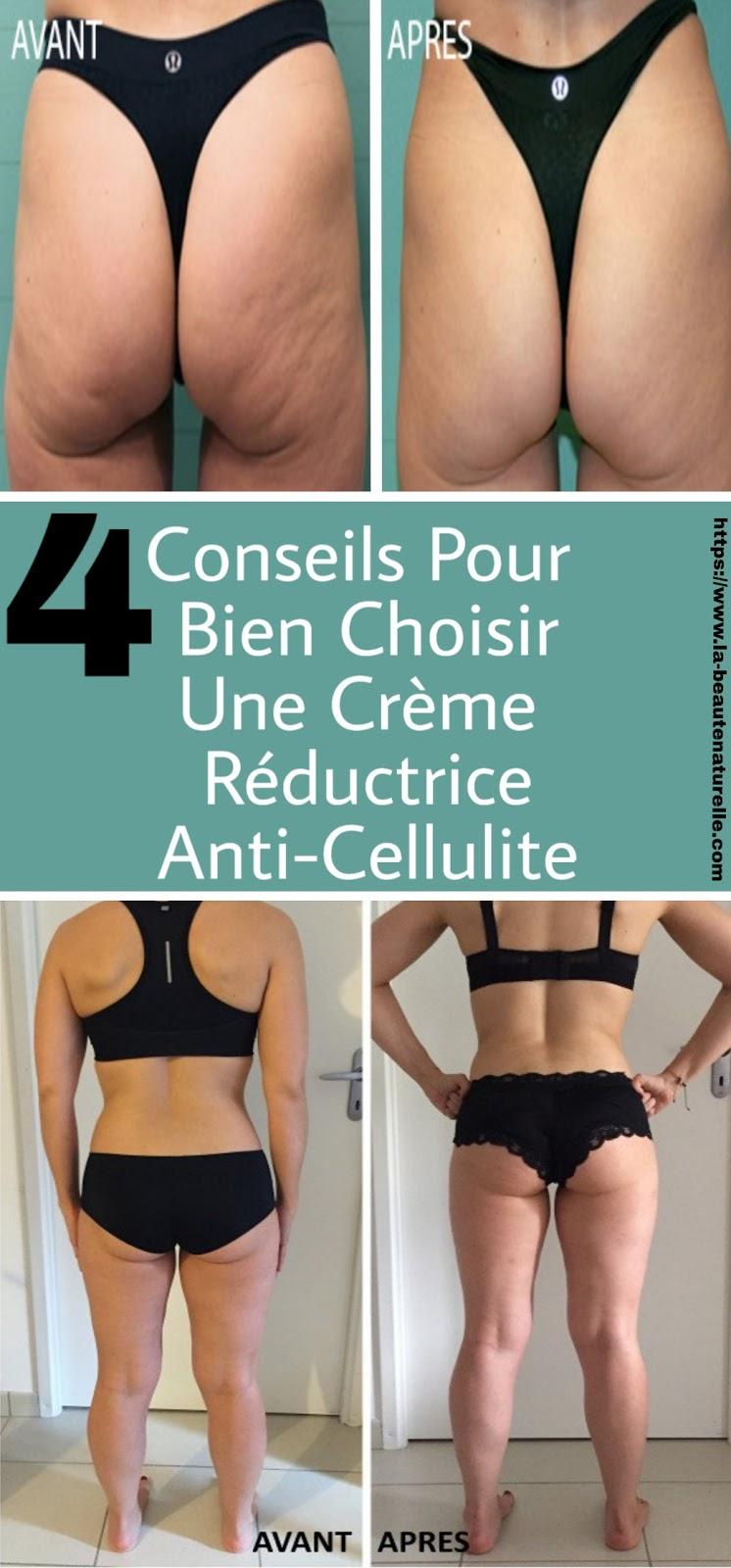 4 Conseils Pour Bien Choisir Une Crème Réductrice Anti-Cellulite