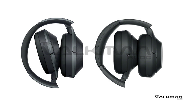Photo comparison of the Sony WH-1000XM3 vs WH-11000XM2