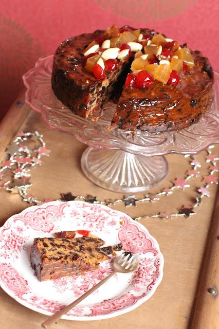 christmas cake anglais