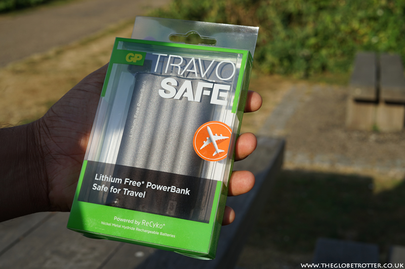 GP Batteries TRAV O SAFE PowerBank