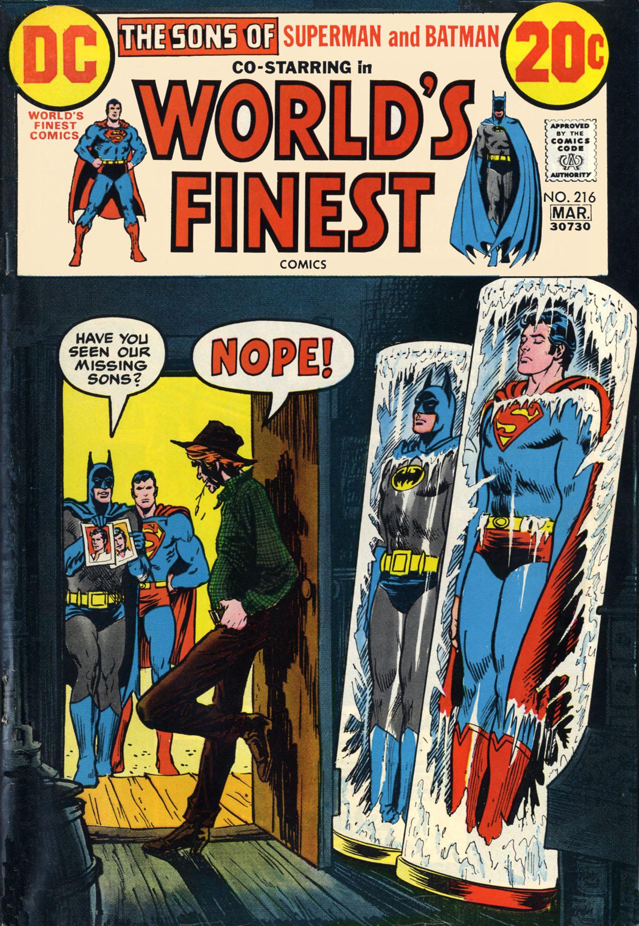 Read online World's Finest Comics comic -  Issue #216 - 1