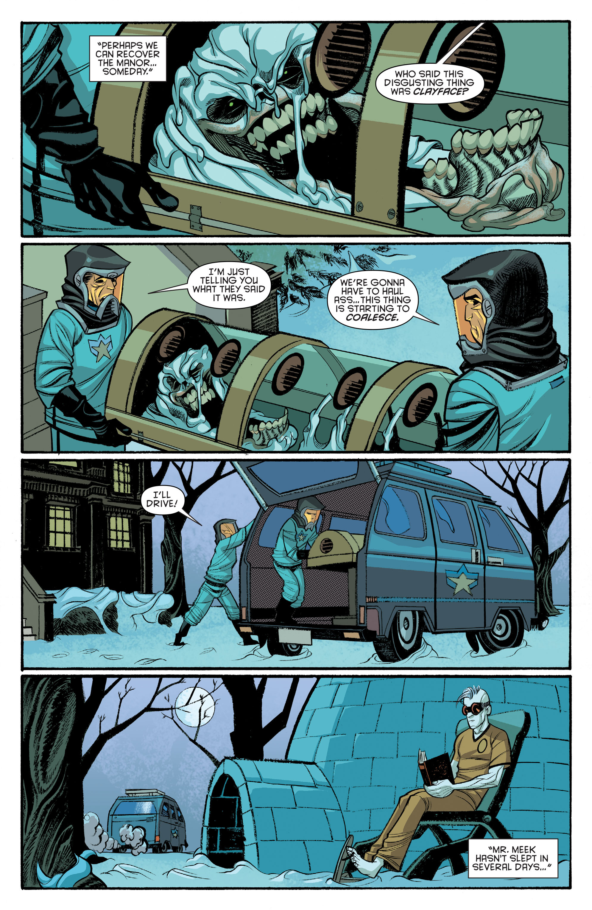 Read online Arkham Manor comic -  Issue #6 - 16