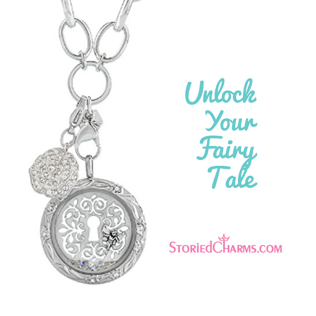 Unlock Your Fairy Tale Origami Owl Locket available at StoriedCharms.com