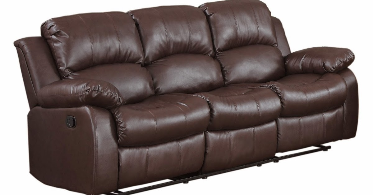 coaster leather sofa reviews tylosand bed slipcover the best reclining sofas ratings reviews: cheap faux ...