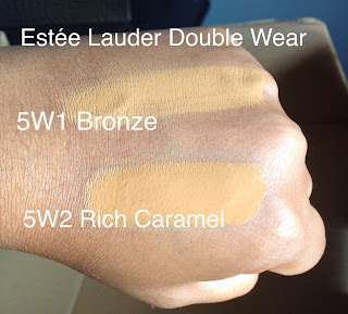 Estee Lauder double wear review and swatches