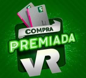 Cadastrar Promoção VR Alimentação Compra Premiada VR - Até Mil Reais Crédito VR