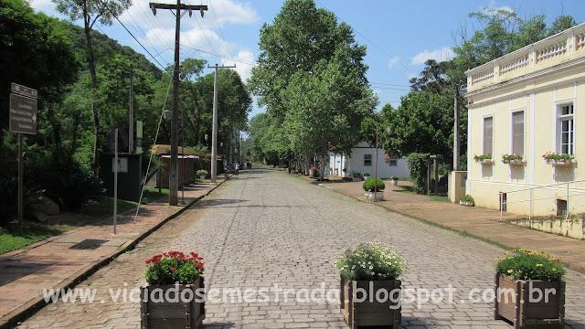 Rua destinada ao lazer, Ivoti, RS