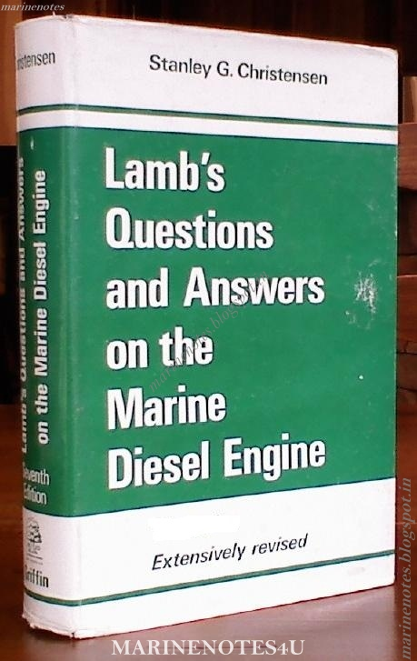 Lambs Questions And Answers On Marine Diesel Engines Pdf